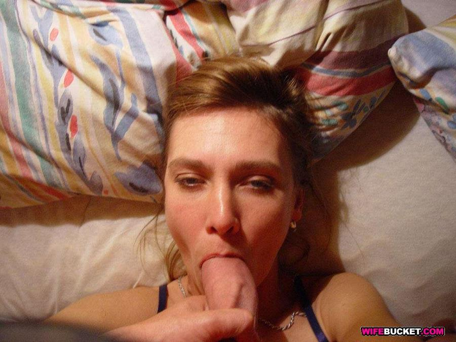 Get more amateur wives giving blowjobs inside Wife Bucket!