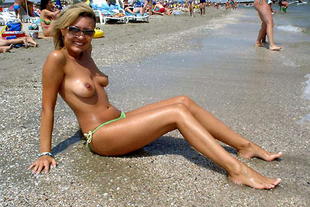 Wife At Beach Pictures