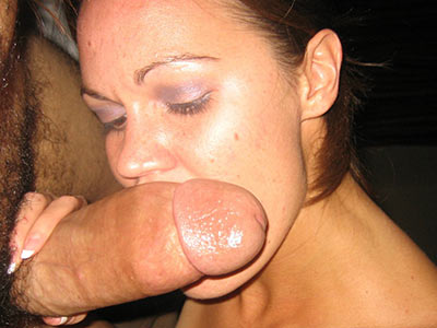 Thick wife sucks loves to suck her hubbys cock 3
