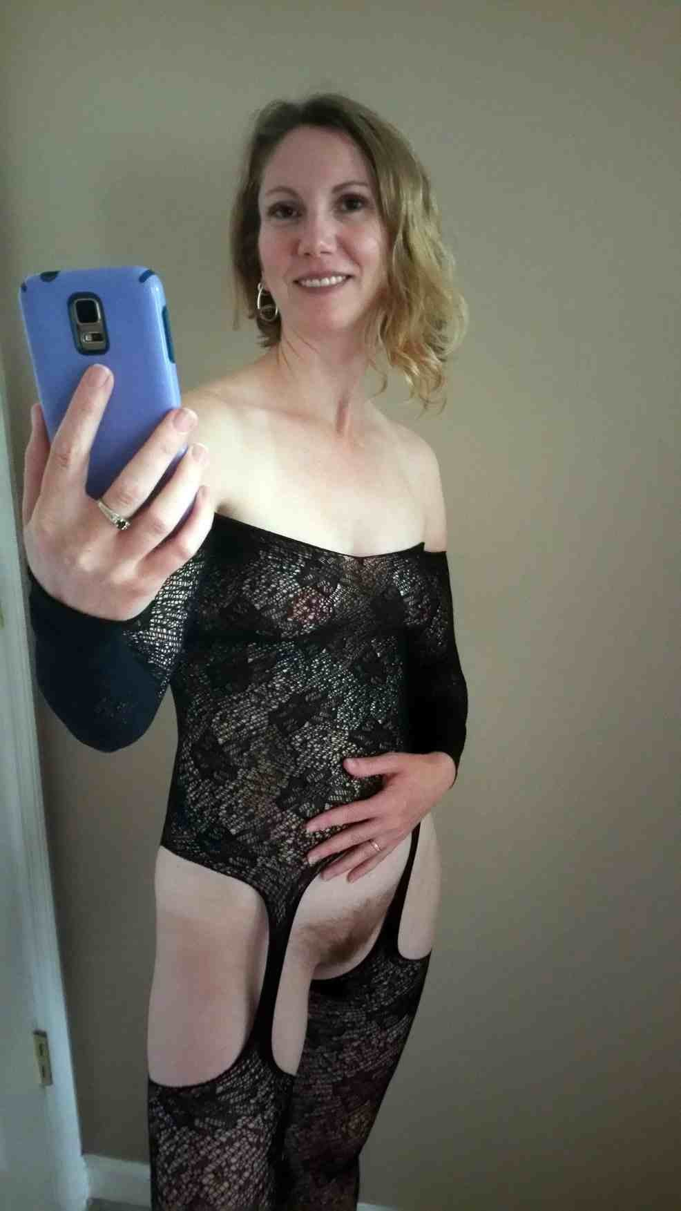 Bush amateur mom with
