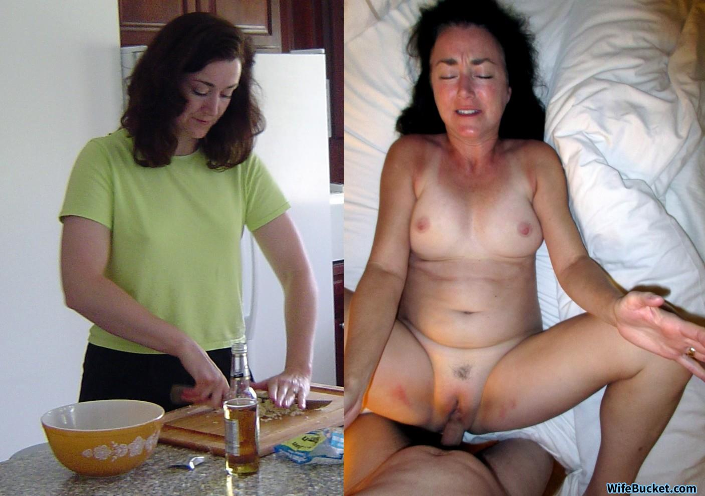 Wifebucket before and after nude can