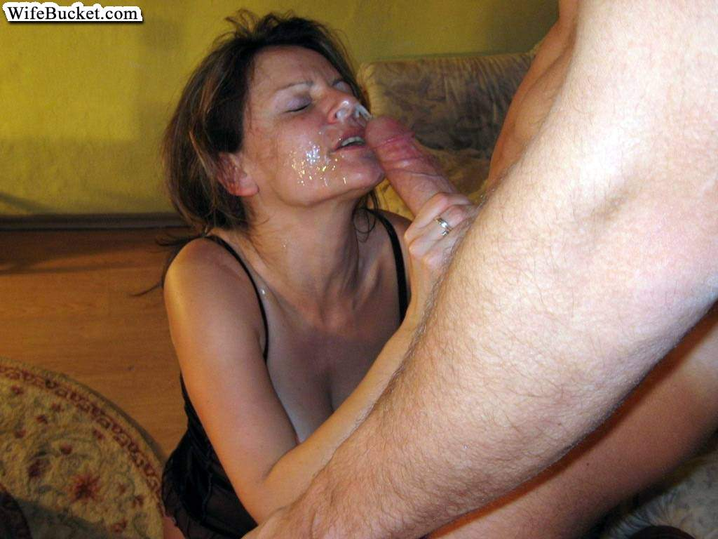 milfs blowjobs Amateur facial and
