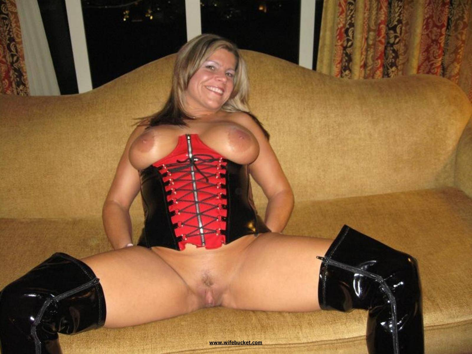 Boots and tits photos fucking image