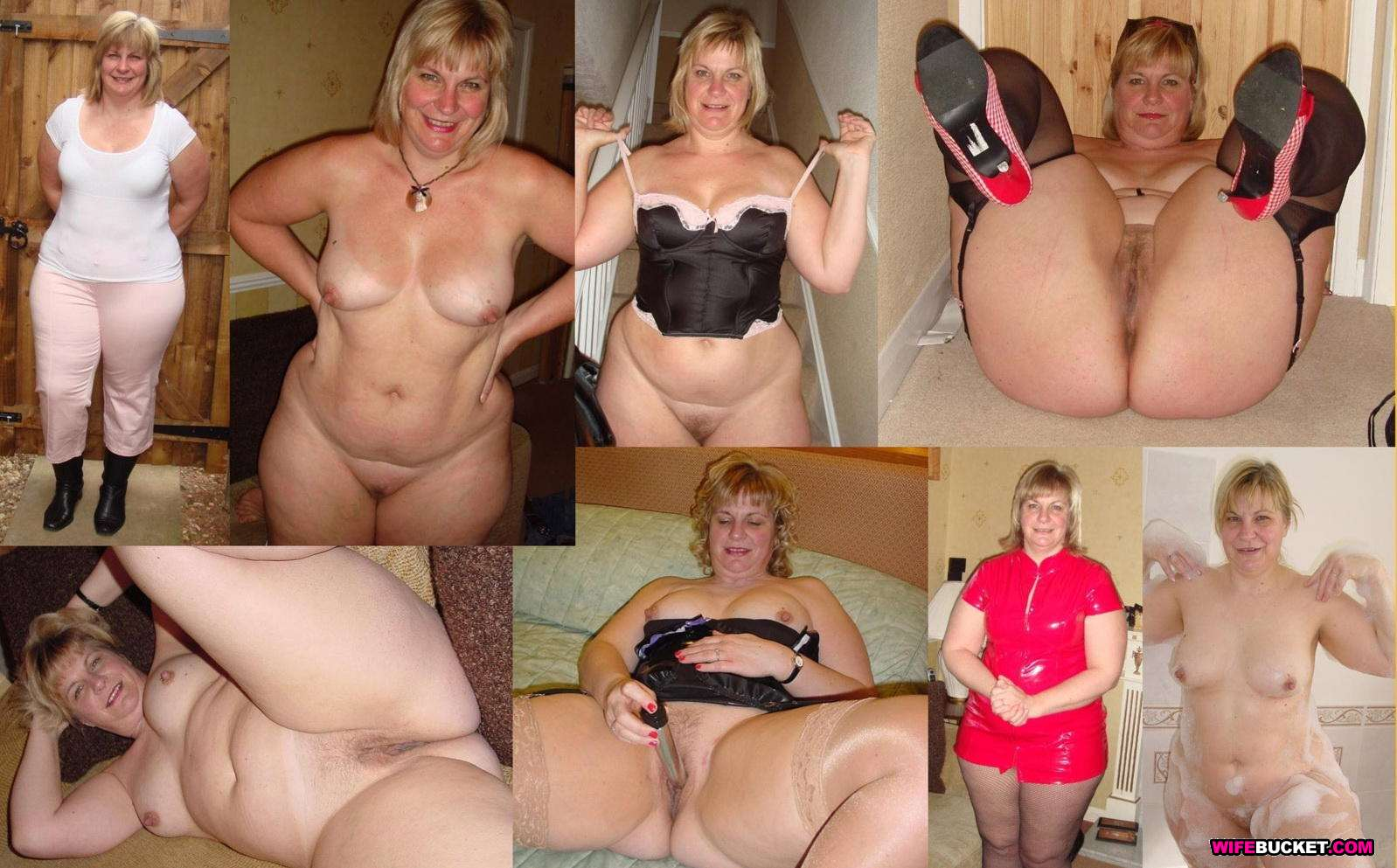 Amateur milf wife dressed undressed event