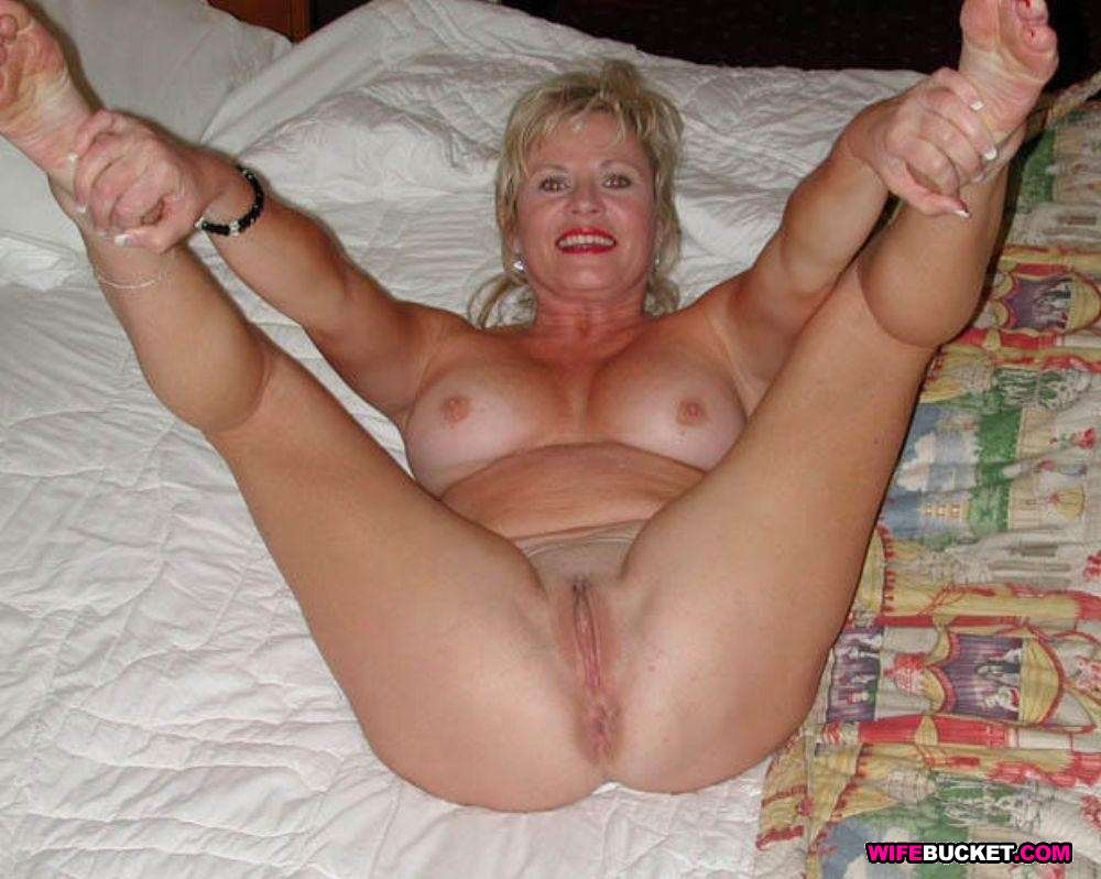 Senior citizen cum slut