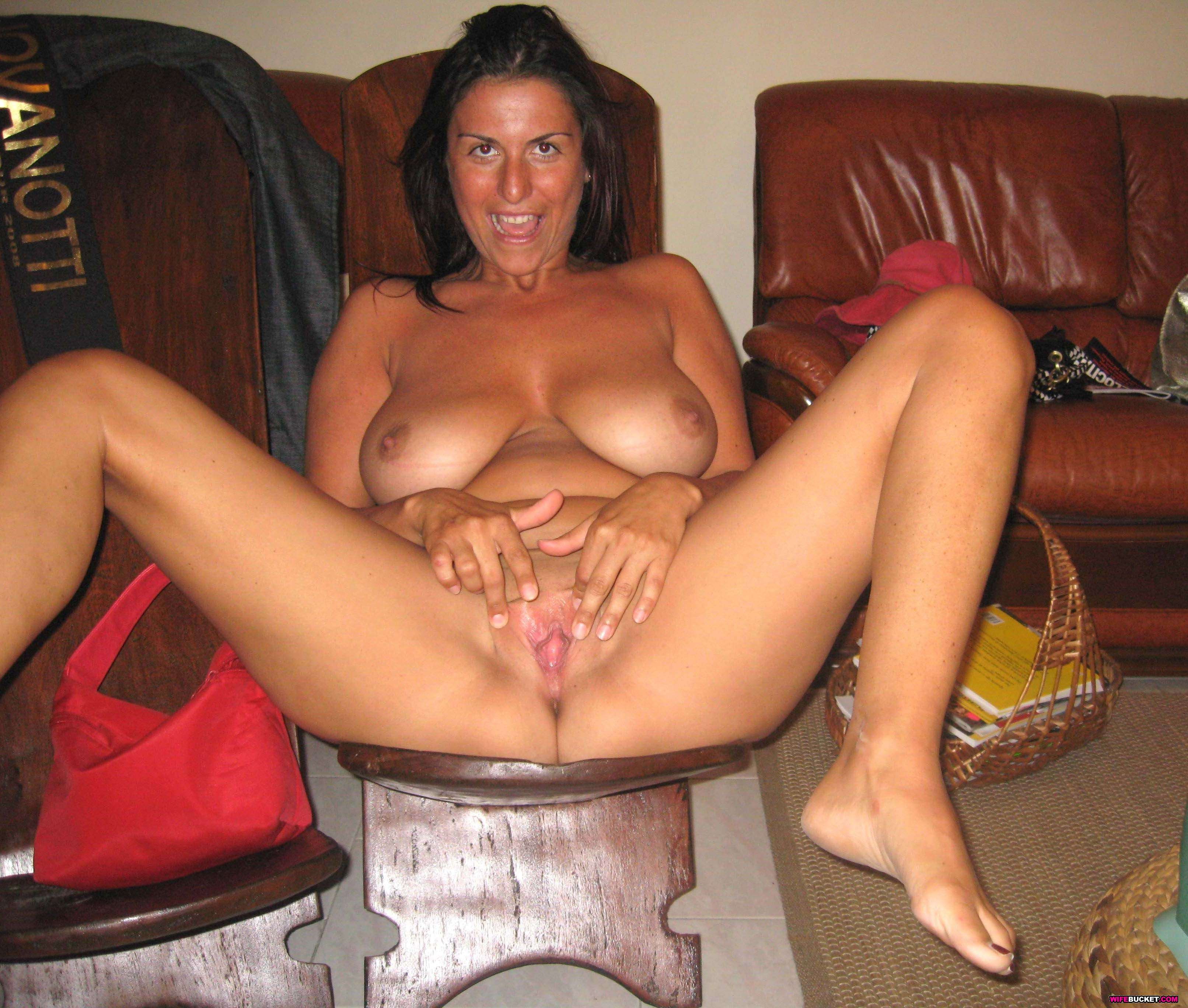 Remarkable, Wife bucket amateur porn spreads pussy And have