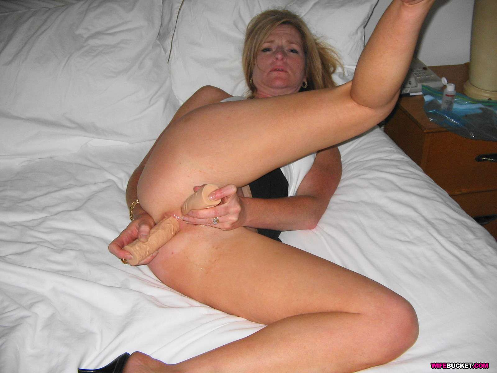 Homemade amateur mature wife real life