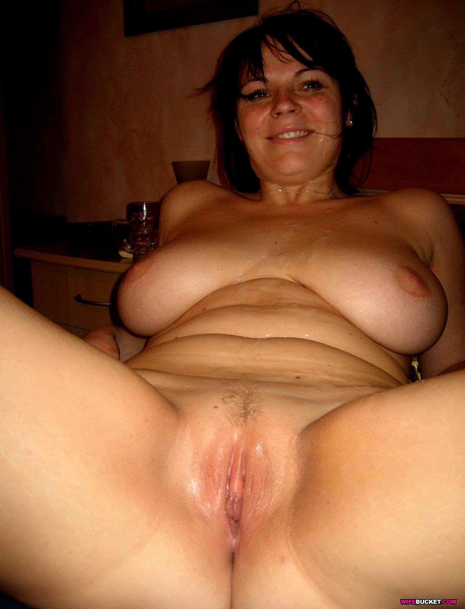 Жена с большой грудью дом порно